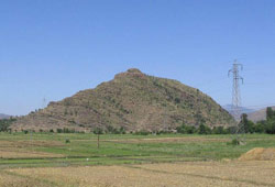 Barikot (Bazira ) from East Side